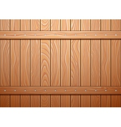 Wood wall texture background vector image vector image