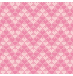 valentine pale pink seamless polka dot pattern vector image