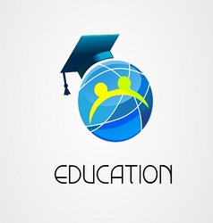 Global Education logo company vector image vector image