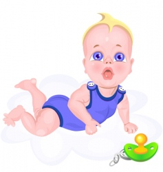 Baby cartoon vector