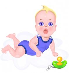 baby cartoon vector image