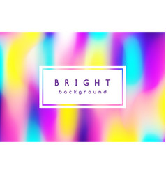 bright multicolor background of blurred spots vector image