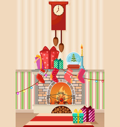 different gifts and vector image