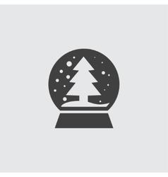 Snowglobe icon vector image