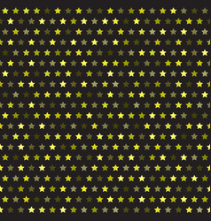 star pattern seamless background vector image