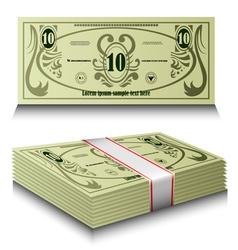 Money set vector image