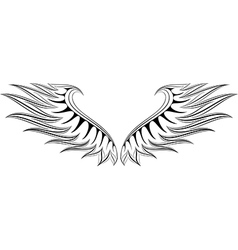 WING 4 vector image