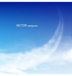 blue sky vector image vector image