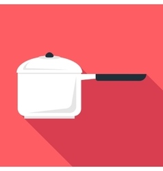 Pan icon flat style vector image