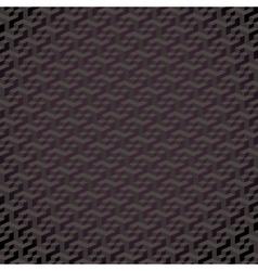 3d hexagon wallpaper vector image vector image