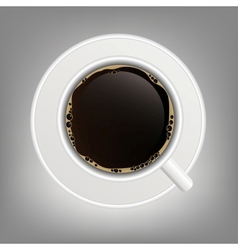 cup of coffee icon vector image