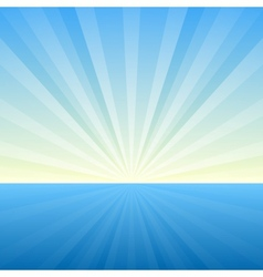 Sunburst Background Cover Template vector image vector image