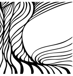 abstract template background with wave design vector image