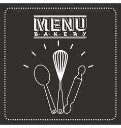 Bakery menu vector