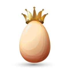 Best chicken egg design vector image