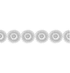 black and white for coloring books vector image