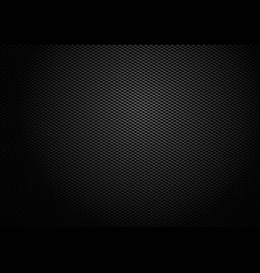 black fabric texture background vector image