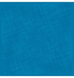 Blue Natural Cotton Fabric Textile Background vector image