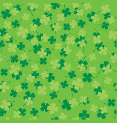 four leaf clover seamless 01 vector image