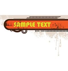 Grunge Splatter Background vector