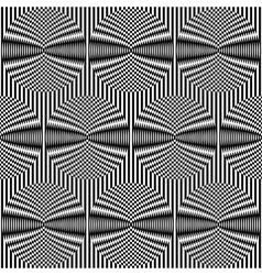 Optical art background vector