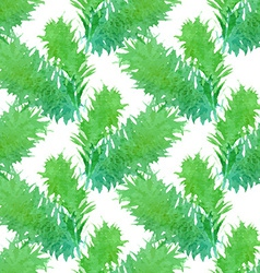 Seamless nature pattern vector image