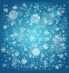 Snowfall in winter abstract background background vector