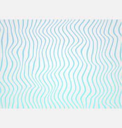 Abstract of gradiene sea blue lines wave in vector
