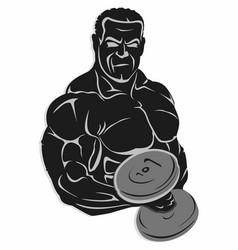 best bodybuilder all timecdr vector image