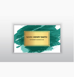 Business card luxury business card design vector