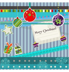Christmas craft vector