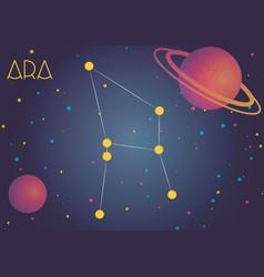 Constellation ara vector