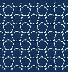 geometric pentagon motif japanese style seamless vector image