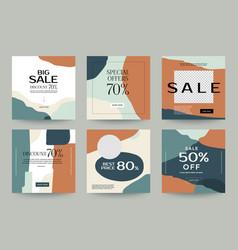 Instagram design template 06 vector
