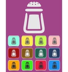 Salt icon - icon isolated vector image