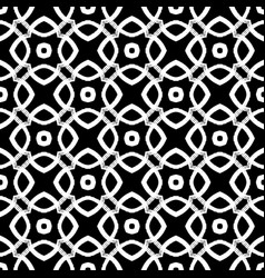 seamless pattern grunge hand-drawn retro texture vector image