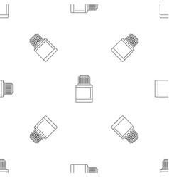 vaping liquid bottle pattern seamless vector image