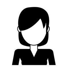 Woman avatar icon image woman avatar icon imag vector