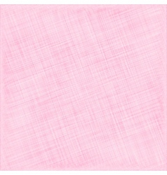 Pink Natural Cotton Fabric Textile Background vector image vector image