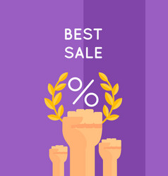 best selling vector image vector image