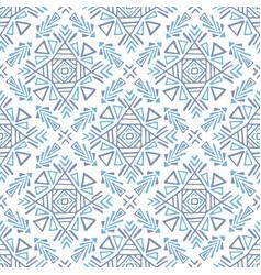 boho ethnic ornament tribal art print seamless vector image