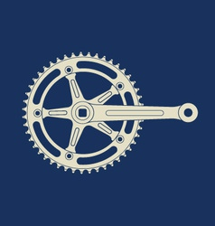 Chainring vector image