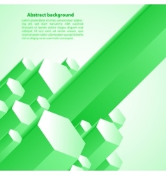 Cristal green prism for your vector
