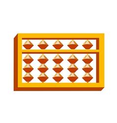 Icon abacus calculation vector