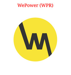 Wepower wpr logo vector