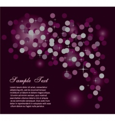 abstract starlight background vector image