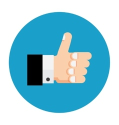 Thumb up icon like vector image