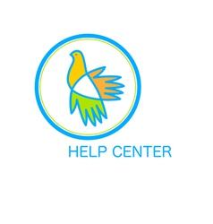 Help center vector