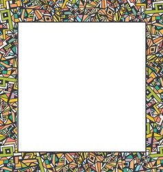 Abstract frame for your text made in vector image vector image