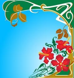 Art Nouveau vector image